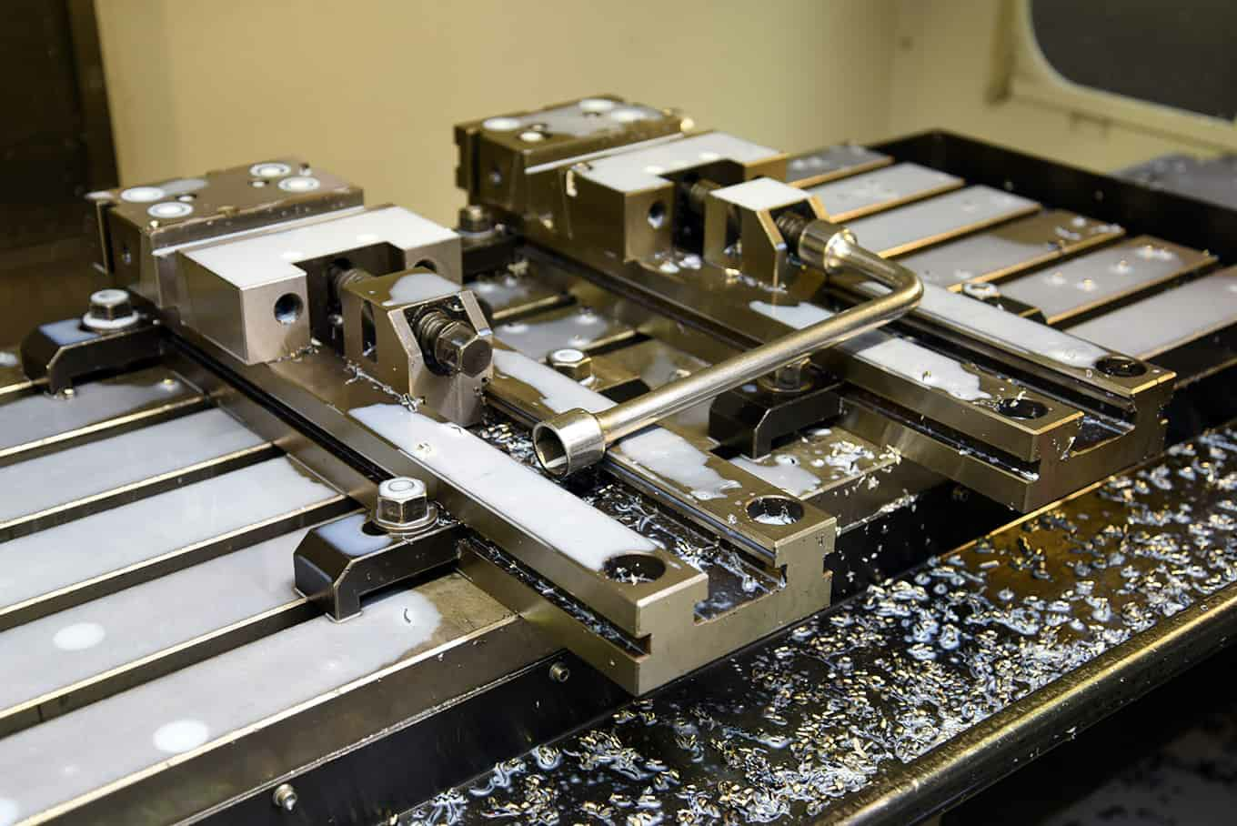 Photograph of a CNC Plate in use