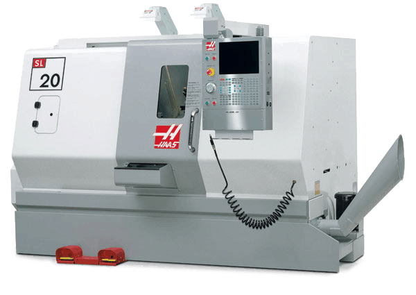 Photograph of Haas SL20 CNC Lathe